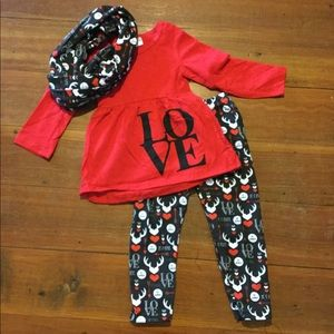Other - 3pc love outfit